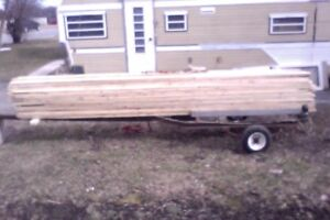 """1"""" x 4"""" x 14' KD SPF 3 or better strapping and trim lumber"""