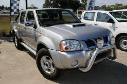 2011 Nissan Navara D22 S5 ST-R Silver 5 Speed Manual Utility