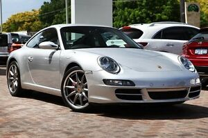2008 Porsche 911 Carrera 997 MY08 S Silver 5 Speed Sports Automatic Coupe Osborne Park Stirling Area Preview