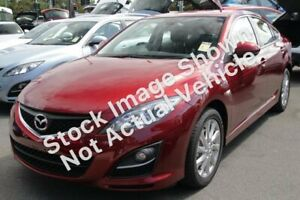 2012 Mazda 6 GH1052 MY12 Touring White 5 Speed Sports Automatic Hatchback Osborne Park Stirling Area Preview