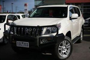 2013 Toyota Landcruiser Prado GRJ150R VX White 5 Speed Sports Automatic Wagon Frankston Frankston Area Preview