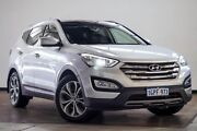 2012 Hyundai Santa Fe CM MY12 Highlander Silver 6 Speed Sports Automatic Wagon Myaree Melville Area Preview