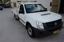 2007 Holden Rodeo RA MY07 LX White 5 Speed Manual Cab Chassis Milperra Bankstown Area Preview