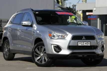 2014 Mitsubishi ASX XB MY15 XLS (4WD) Silver 6 Speed Automatic Wagon Arncliffe Rockdale Area Preview