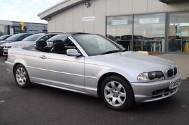 BMW 3 SERIES 2.2 320CI 2d 168 BHP * GREAT VALUE NICE LOW PRICE (silver) 2002