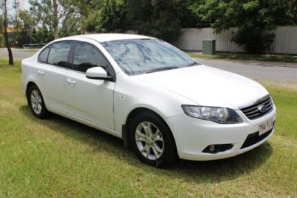 2008 Ford Falcon FG XT White 5 Speed Sports Automatic Sedan Ormeau Gold Coast North Preview