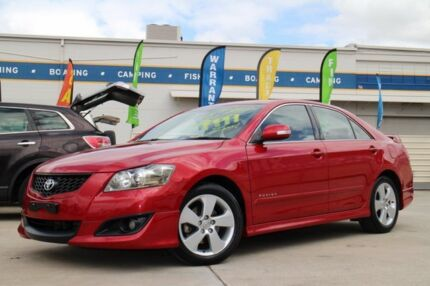 2006 Toyota Aurion GSV40R Sportivo SX6 Red 6 Speed Sports Automatic Sedan