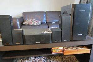 Set of speakers Panasonic for hometheatre/Subwoofer 250w