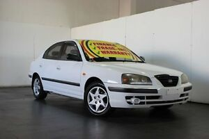 2004 Hyundai Elantra XD 2.0 HVT White 4 Speed Automatic Sedan Underwood Logan Area Preview