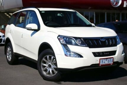 2016 Mahindra XUV500 MY16 W8 White 6 Speed Sports Automatic Wagon