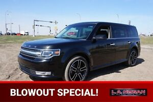 2015 Ford Flex AWD LIMITED Navigation (GPS),  Leather,  Heated S
