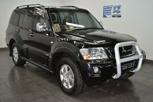 2006 Mitsubishi Pajero NP Exceed Black Sports Automatic Wagon Cabramatta Fairfield Area Preview