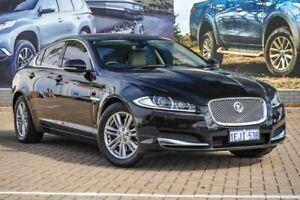 2013 Jaguar XF X250 MY14 Luxury Black 8 Speed Sports Automatic Sedan Morley Bayswater Area Preview