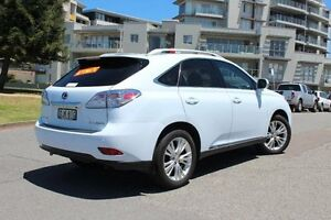 2010 Lexus RX450H GYL15R Sports Luxury White Pearl Continuous Variable Wagon Hamilton Newcastle Area Preview