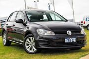 2014 Volkswagen Golf VII MY15 90TSI DSG Comfortline Black 7 Speed Sports Automatic Dual Clutch Wangara Wanneroo Area Preview