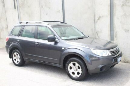 2009 Subaru Forester S3 MY10 X AWD Grey 4 Speed Sports Automatic Wagon Mount Hawthorn Vincent Area Preview