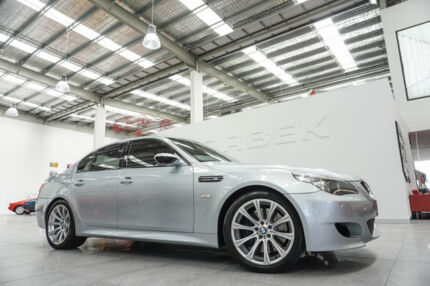 2006 BMW M5 E60 Silverstone 7 Speed Sequential Manual Sedan