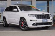 2012 Jeep Grand Cherokee WK MY2013 SRT-8 Alpine White 5 Speed Sports Automatic Wagon Mindarie Wanneroo Area Preview