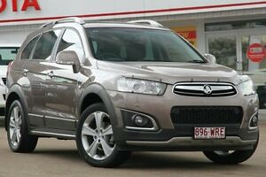 2014 Holden Captiva CG MY15 Grey 6 Speed Sports Automatic Wagon Woolloongabba Brisbane South West Preview