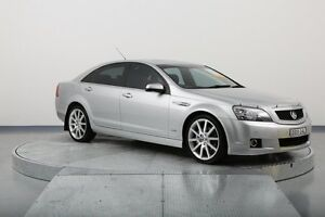 2012 Holden Caprice WM II V Silver 6 Speed Sports Automatic Sedan Old Guildford Fairfield Area Preview