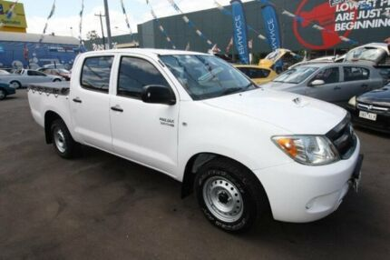 2008 Toyota Hilux KUN16R MY09 SR 4x2 White 5 Speed Manual Utility Kingsville Maribyrnong Area Preview