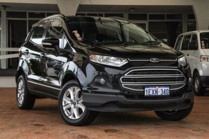 2015 Ford Ecosport BK Trend Panther Black 5 Speed Manual Wagon