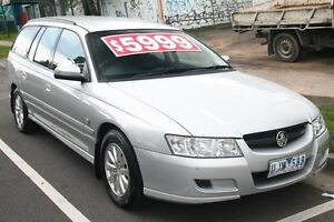 2004 Holden Commodore VZ Acclaim Silver 4 Speed Automatic Wagon Briar Hill Banyule Area Preview