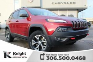 2017 Jeep Cherokee Trailhawk - Heated Seats - Heated Steering Wh