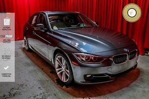2013 BMW 3 Series SPORT LINE! RED STITCHING AND TRIM! MEMORY SEA