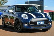 2014 Mini Hatch F56 One Blue 6 Speed Automatic Hatchback East Rockingham Rockingham Area Preview