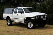 2001 Toyota Hilux RZN174R MY02 Xtra Cab White 5 Speed Manual Utility Beaconsfield Cardinia Area Preview