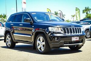 2011 Jeep Grand Cherokee WK MY2011 Limited Brilliant Black Crystal Pearl 5 Speed Sports Automatic Garbutt Townsville City Preview