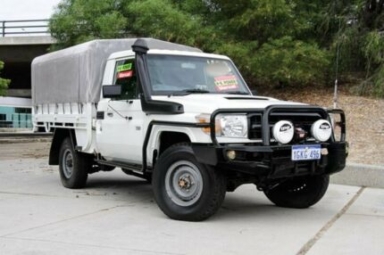 2012 Toyota Landcruiser VDJ79R MY13 Workmate 5 Speed Manual Cab Chassis