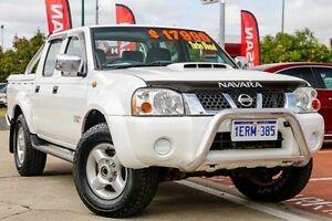 2011 Nissan Navara D22 S5 ST-R White 5 Speed Manual Utility Victoria Park Victoria Park Area Preview
