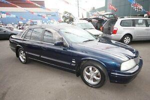 2002 Ford Fairlane AU II Ghia Blue 4 Speed Automatic Sedan Kingsville Maribyrnong Area Preview