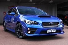 2014 Subaru WRX V1 MY15 Premium Lineartronic AWD WR Blue 8 Speed Constant Variable Sedan Northbridge Perth City Preview