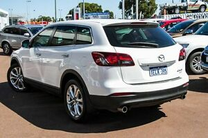 2013 Mazda CX-9 TB10A5 Luxury Activematic AWD White 6 Speed Sports Automatic Wagon Wilson Canning Area Preview