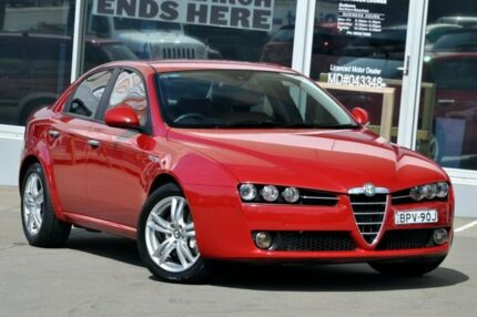 2009 Alfa Romeo 159 MY09 2.2 JTS Red 6 Speed Manual Sedan Brookvale Manly Area Preview