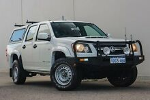 2009 Holden Colorado RC MY09 LX Crew Cab White 4 Speed Automatic Utility Bellevue Swan Area Preview