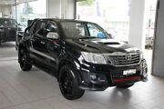2014 Toyota Hilux KUN26R MY14 SR5 Black (4x4) Black 5 Speed Automatic Dual Cab Pick-up Thornleigh Hornsby Area Preview