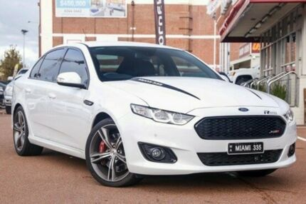 2015 Ford Falcon FG X XR8 White 6 Speed Manual Sedan Fremantle Fremantle Area Preview