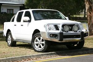 2014 Nissan Navara D40 S6 MY12 ST White 6 Speed Manual Utility Yeerongpilly Brisbane South West Preview