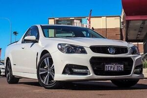 2014 Holden Ute VF MY14 SS Ute Storm White 6 Speed Manual Utility Fremantle Fremantle Area Preview
