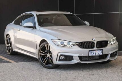 2014 BMW 420d F32 M Sport Silver 8 Speed Sports Automatic Coupe