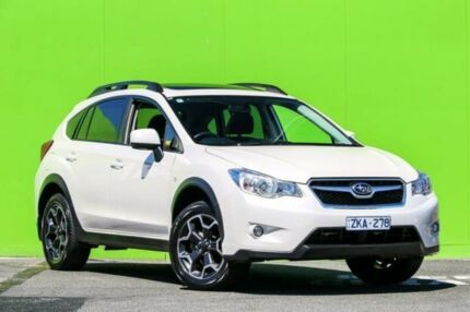 2012 Subaru XV G4X MY12 2.0i-L Lineartronic AWD White 6 Speed Constant Variable Wagon Ringwood East Maroondah Area Preview