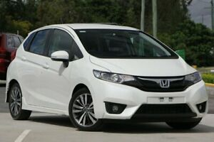2015 Honda Jazz GF MY15 VTi-L White 1 Speed Constant Variable Hatchback Brendale Pine Rivers Area Preview