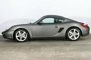2008 Porsche Cayman 987 MY08 Silver 6 Speed Manual Coupe Alexandria Inner Sydney Preview