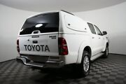 2013 Toyota Hilux KUN26R MY12 SR5 Xtra Cab White 5 Speed Manual Utility Edwardstown Marion Area Preview