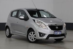 2012 Holden Barina TK MY11 Classic White 5 Speed Manual Hatchback Bentley Canning Area Preview