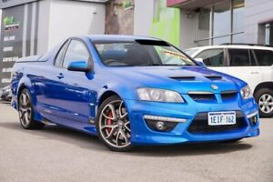 2010 Holden Special Vehicles Maloo E Series 2 R8 Blue 6 Speed Manual Utility Myaree Melville Area Preview